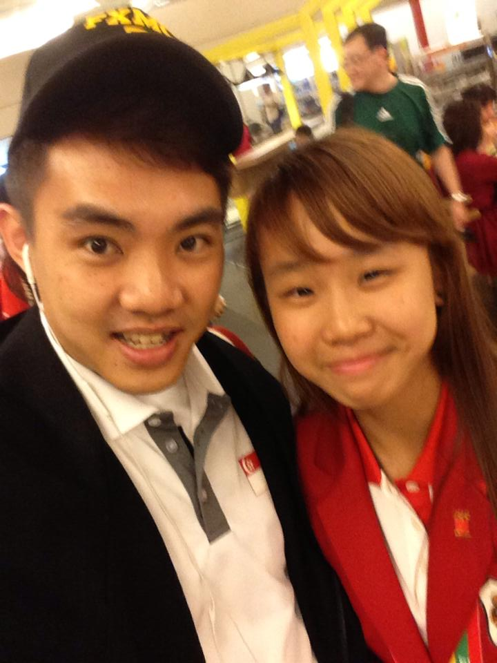 Zoe and Wen Yeow